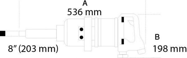 pistol pneumatic de impact actionare1 2445nm 1930la 1