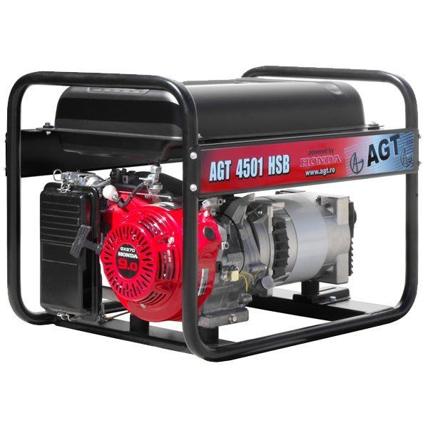 generator curent agt 4501 hsb rezervor 26 litri