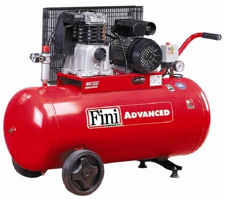 mk102 100 3mcompresor cu piston curea qasp320l min 10bar 2 2kw 230v but 100l