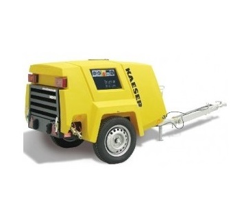 motocompresor mobil cu surub kaeser m27pe