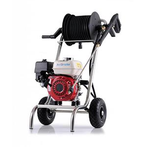 k411872 aparat de spalat cu presiune profi jet b 20 200 cu viteza variabila si tambur cu furtun motor pe benzina