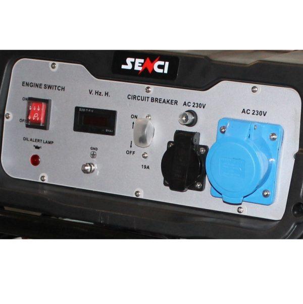 SC 5000 Panou de control generator Senci