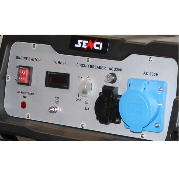 SC 6000 Panou de control generator Senci 1