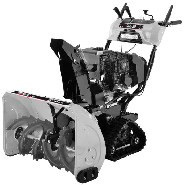 echipamente tehnice.ro sfk80 freza de zapada cu senile