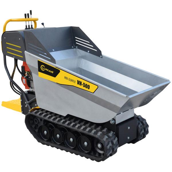 echipamente tehnice.ro vh500gx mini dumper cu remorca hidraulica 196cc