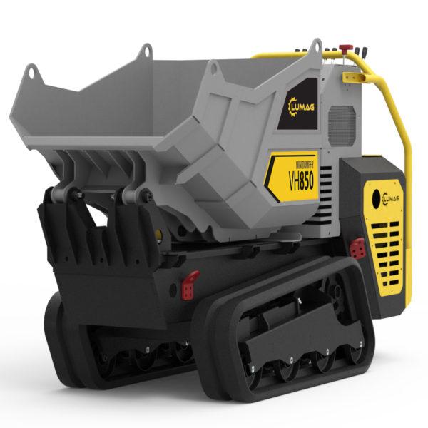 echipamente tehnice.ro vh850 mini dumper cu senile 389 cc