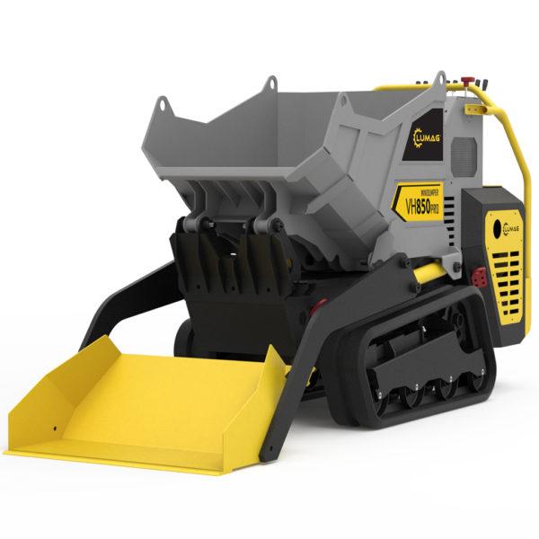 echipamente tehnice.ro vh850pro mini dumper cu senile 289 cc