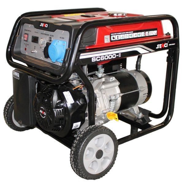 sc 6000 Generator de curent Senci 1