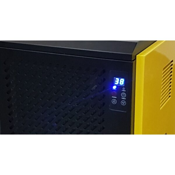 dezumidificator aer dh80 calore capacitate dezumidificare 80 litrizi debit aer 1000mcbh 230v 2