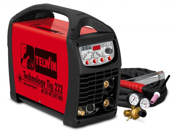 technology tig 222acdc hflift aparat de sudura telwin tip tig large