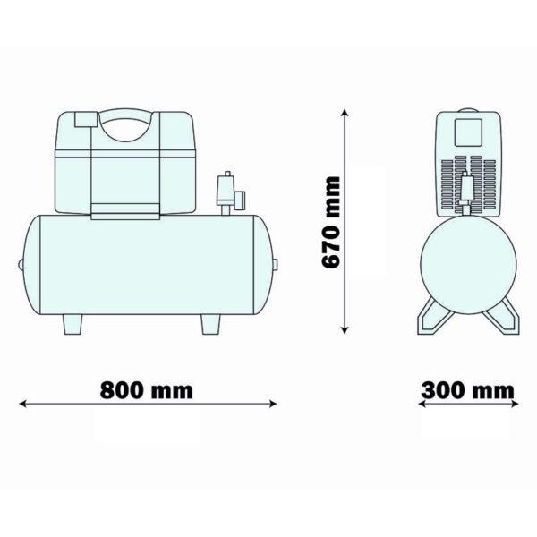 13919 compresor medical tip airmed 210 50