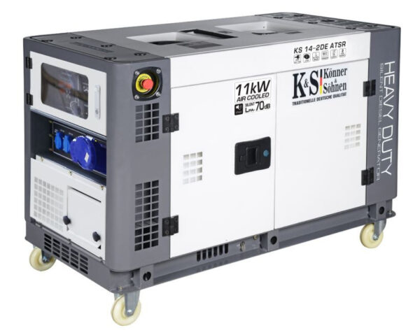 generator de curent 11 kw diesel heavy duty insonorizat konner sohnen4579