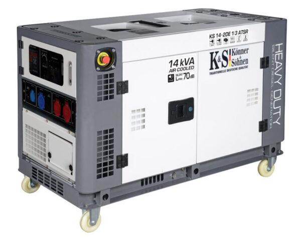 generator de curent 11 kw diesel heavy duty insonorizat konner sohnnen4560