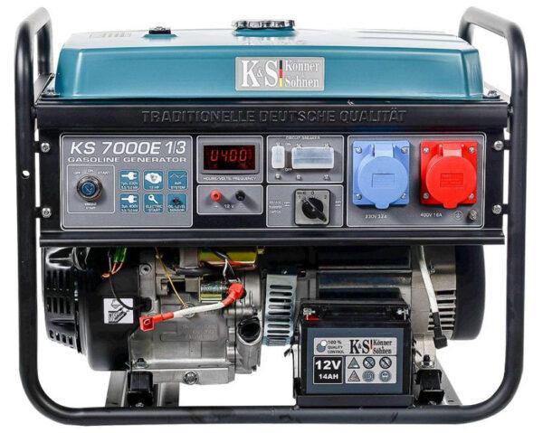 generator de curent 5 5 kw benzina pro konner sohnen ks 7000e 1 34549