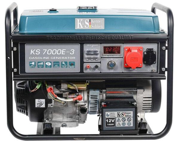 generator de curent 5 5 kw benzina pro konner sohnen ks 7000e 34572