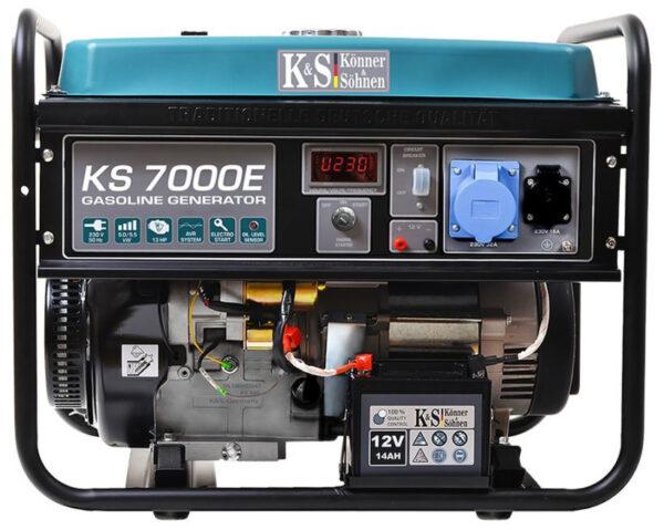 generator de curent 5 5 kw benzina pro konner sohnen ks 7000e ats4548