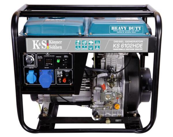 generator de curent 5 5 kw diesel heavy duty euro 2 konner sohnen ks4592