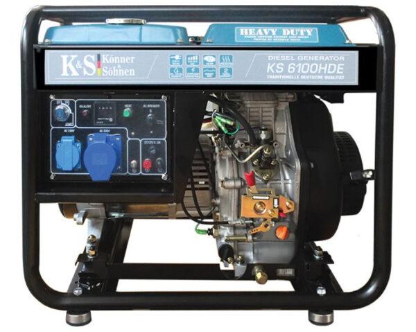 generator de curent 5 5 kw diesel heavy duty konner sohnen ks 6100de4577