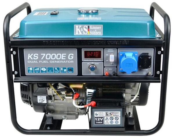 generator de curent 5 5 kw hibrid gpl benzina konner sohnen ks 7000e g4550