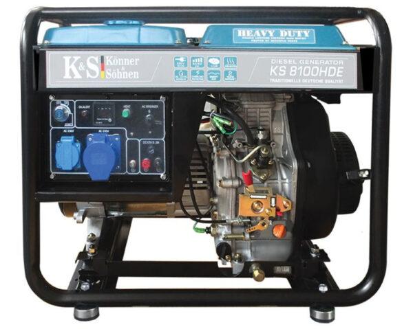 generator de curent 6 5 kw diesel heavy duty konner sohnen ks 8100de4556