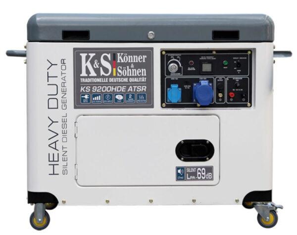 generator de curent 6 8 kw diesel heavy duty insonorizat konner sohnen4597