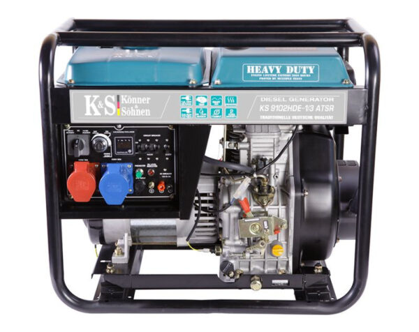 generator de curent 7 5 kw diesel heavy duty euro 2 konner sohnen ks4595