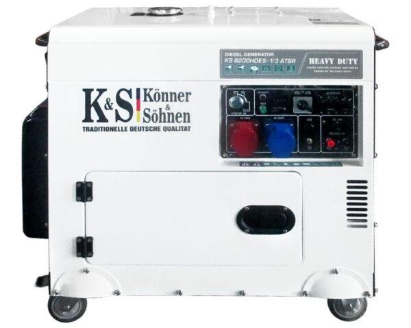 generator de curent 7 5 kw diesel heavy duty insonorizat konner sohnen4559