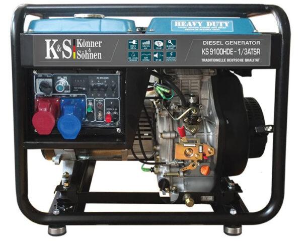 generator de curent 7 5 kw diesel heavy duty konner sohnen ks 9100de 14557