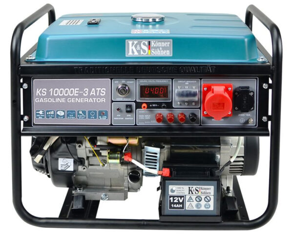 generator de curent 8 kw benzina pro konner sohnen ks 10000e 3 ats4575