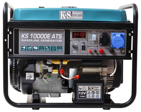 generator de curent 8 kw benzina pro konner sohnen ks 10000e ats4551