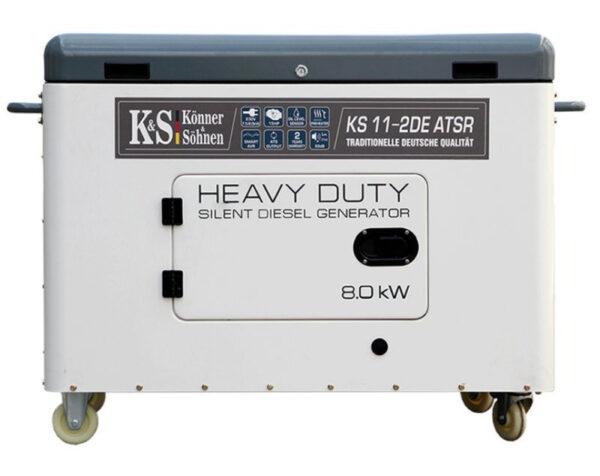 generator de curent 8 kw diesel heavy duty insonorizat konner sohnen4599