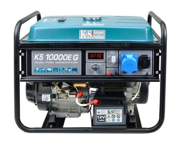 generator de curent 8 kw hibrid gpl benzina konner sohnen ks 10000e g4584