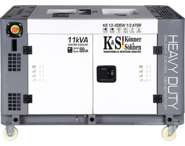 generator de curent 9 kw diesel heavy duty insonorizat konner sohnen4591