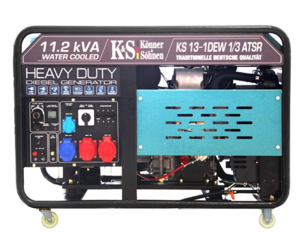 generator de curent 9 kw diesel heavy duty konner sohnen ks 13 1dew 14589