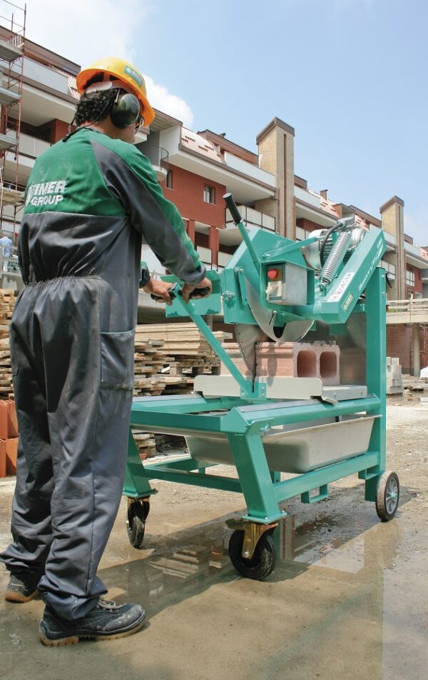 Masonry 750 trifazic masina de taiat caramida piatra naturala tigla Imer